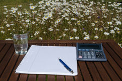 Outdoors work place Stock Photo