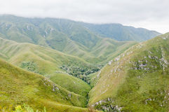 Outeniqua Mountains Stock Photo