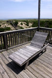 Outer Banks Beach Chair Royalty Free Stock Photo