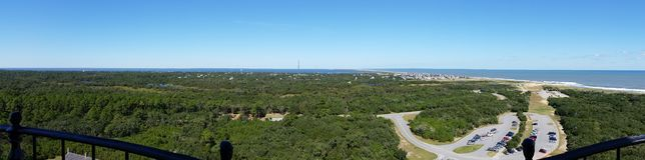Outer banks beaches royalty free stock photos