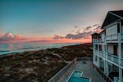 Outer Banks, playa del NC Imagenes de archivo
