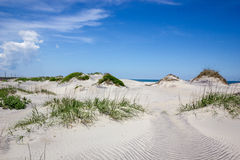 Outer Banks sand dunes stock image