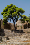 Outer Castle wall in Nafpaktos central Greece. Outer Castle wall in Nafpaktos city central Greece Stock Photo