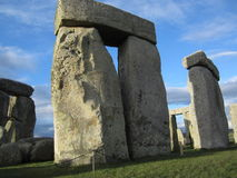 Outer Circle to Inner Circle at Stonehenge Royalty Free Stock Photos