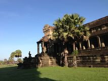 Outer gallery from Angkor Wat Stock Photo