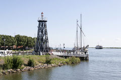 The outer harbour of Enkhuizen Stock Photography