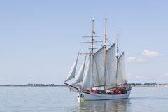 The outer harbour of Enkhuizen Royalty Free Stock Images