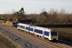 Outer London commuters Royalty Free Stock Images
