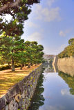 Outer Moat of Japanese Castle Royalty Free Stock Photo