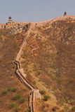 Outer Part of Great Wall of India in Jaipur Royalty Free Stock Images