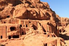 The Outer Siq. In Petra, Jordan Stock Image