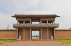 Outer South Gate of Shiwa Castle, Morioka city, Japan Stock Photography