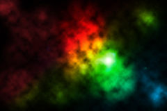 Outer space. Colorful outer space with starry star stock illustration