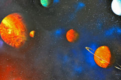 Outer Space Royalty Free Stock Photo