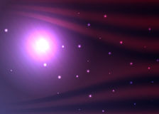 Outer space background Stock Images