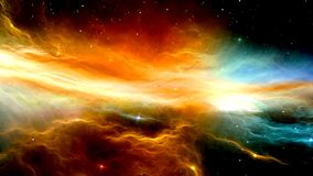 Outer space Royalty Free Stock Photos