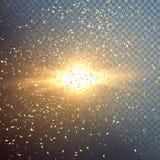 Outer Space Exlosion Vector Effect Stock Photos