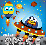 Outer space vector illustration