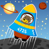 Outer space stock illustration