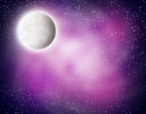 Outer Space Scene vector illustration