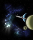 Outer Space Scene Stock Photo