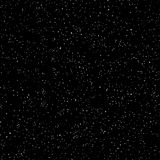 Outer space, starry dark sky, seamless pattern, black and white texture. Chaotic point spraying. Vector. Outer space, starry dark sky, seamless pattern, black Royalty Free Stock Photo