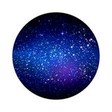 Outer space starry design Royalty Free Stock Photo