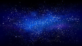 Outer space starry design. Vector astronomic background Stock Photo