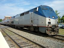 Outer Suburbia Commuter Train Royalty Free Stock Photo