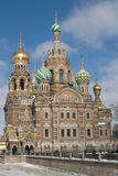 Outer view at Museum-monument. Alexander, art, belief, channel, chapel, christ, christianity, church, mosaic, museum stock photo