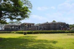 Free Outer View Of The Hoysaleswara Temple, Hoysala Style, Halebidu, Karnataka. Stock Photos - 107107473