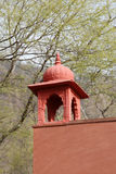 Outer wall of Guard and security point inside Ranthambore National Park Royalty Free Stock Photo
