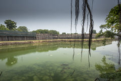 Outer wall Imperial Palace Hue Royalty Free Stock Photography