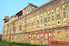 Outer Wall of Shahi Qila Royalty Free Stock Photography