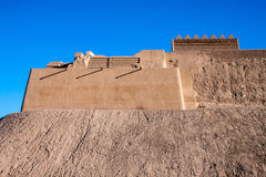 Outer Walls Of Ancient Town Of Bam Royalty Free Stock Photography