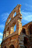 Outer Wing of the Arena in Verona Stock Photography