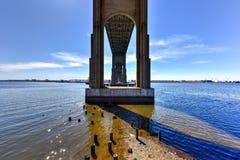 Outerbridge-Überfahrt stockfotografie