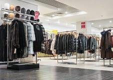 Outerwear καταστημάτων Στοκ Φωτογραφία