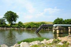Outfall das águas residuais Imagens de Stock Royalty Free