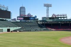 Outfield della sosta di Fenway Fotografie Stock Libere da Diritti
