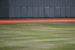 Outfield van het honkbal Stock Foto