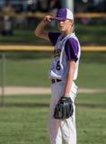 Outfielder do basebol Imagem de Stock