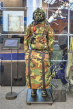 Outfit of the paratroopers Stock Photo