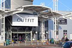 Outfit stores. Stock Images