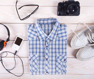 Outfit of young guy Royalty Free Stock Images