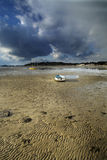 Outflow in bournemouth. Dramatic sky and outflow in dorset Royalty Free Stock Images