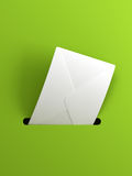 Outgoing letter. The outgoing letter, 3d render Royalty Free Stock Photography