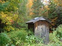 Outhouse βόρειο Οντάριο Στοκ Φωτογραφία