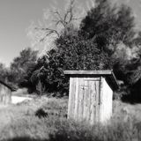 outhouse Stockbilder