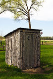 outhouse Obraz Stock